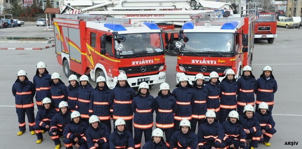 Ankara İtfaiyesi bayram mesaisinde 167 canı kurtardı