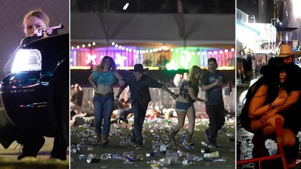 ABDde konsere silahlı saldırı..