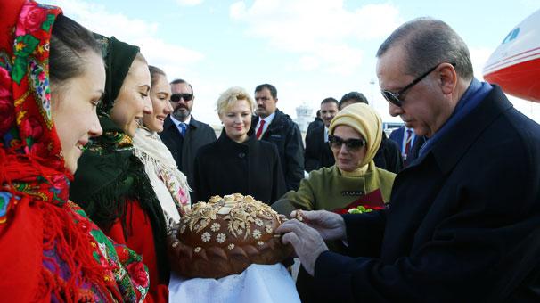 Cumhurbaşkanı Erdoğan, Ukraynada..