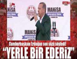 Cumhurbaşkanı Erdoğan, Manisada...