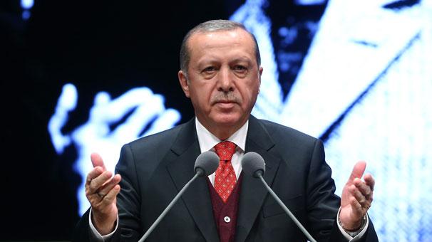 Cumhurbaşkanı Erdoğandan açıklamalar