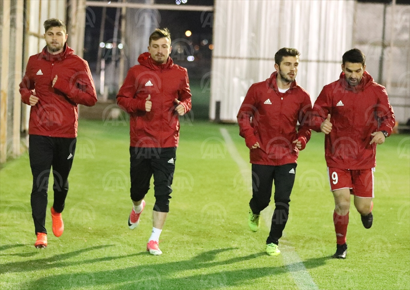 Sivassporda Fenerbahçe maçı hazırlıkları