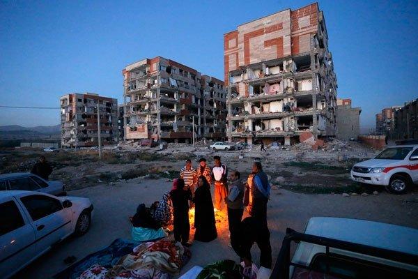 Irakta 7,3 büyüklüğünde deprem