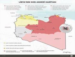 Libyanın son askeri haritası