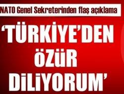 NATO Türkiyeden özür diledi!
