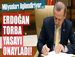 """""""Torba Yasa"""" Resmi Gazete'de yayımlandı"""