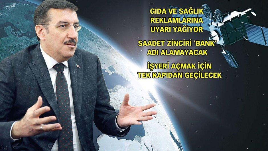 """""""Kaçakçıları Türksat uyduları yakalayacak"""""""