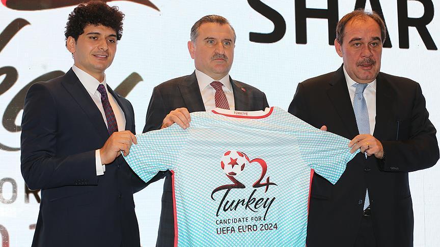 Türkiye'nin EURO 2024 adaylığı logosu tanıtıldı