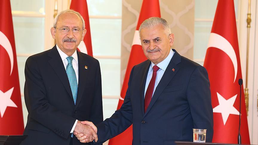 Yıldırım - Kılıçdaroğlu görüşmesi sona erdi