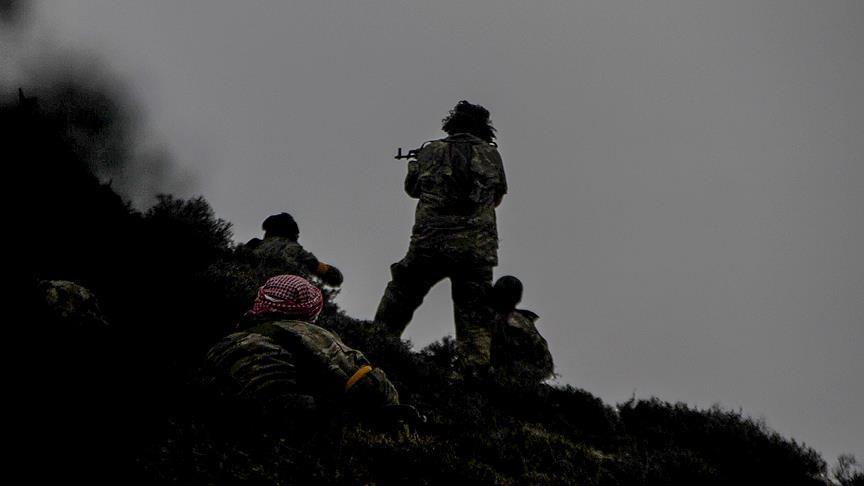 Zeytin Dalı Harekatı'nda 260 terörist etkisiz hale getirildi