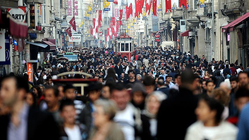 Türkiye'nin 2017 nüfusu açıklandı!