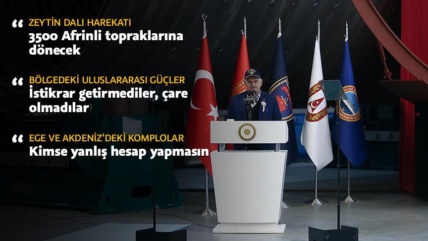"""""""Yaklaşık 350 bin Afrinli topraklarına dönecek"""""""