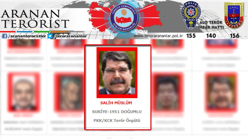 PYD/PKK'nın eski eş başkanı Salih Müslüm Prag'da yakalandı