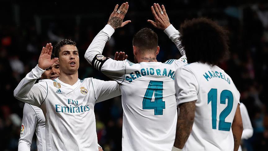 Real Madrid evinde kazandı!
