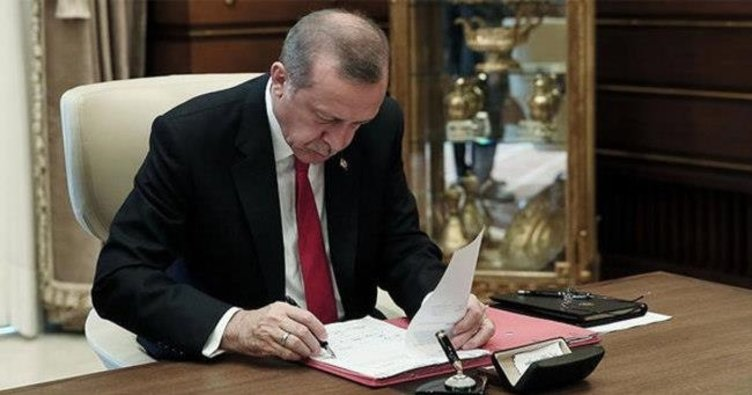 CUMHURBAŞKANI KARARLARI RESMİ GAZETE'DE..