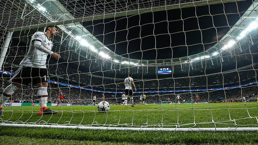 Beşiktaş, Şampiyonlar Ligi'ne veda etti!