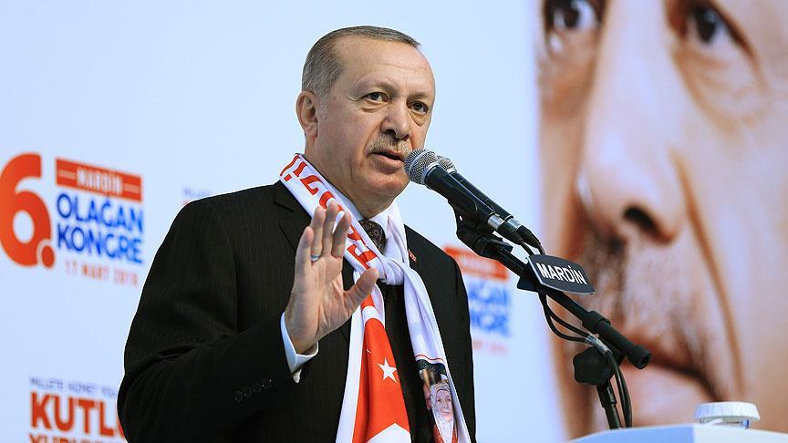 Erdoğan: Her an Afrin müjdesi verebiliriz