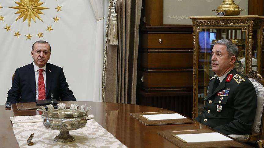 Cumhurbaşkanı Erdoğan, Akar'ı kabul edecek!