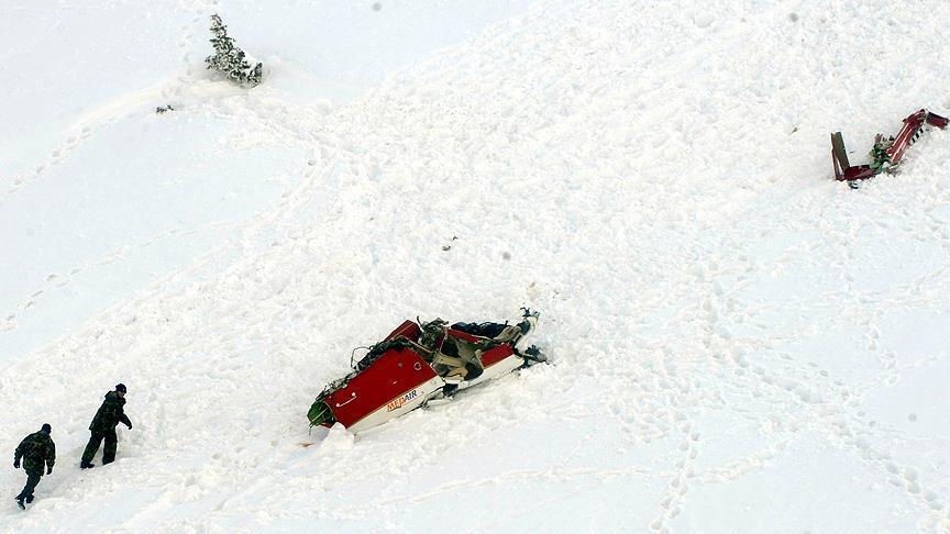Yazıcıoğlu'nun helikopter kazasına ilişkin soruşturma sürüyor