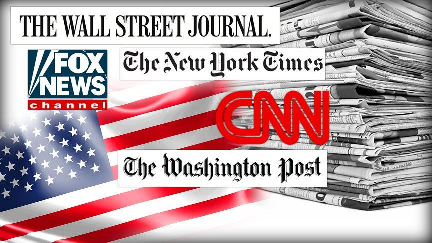Suriye'ye saldırı Amerikan medyasında geniş yer buldu!