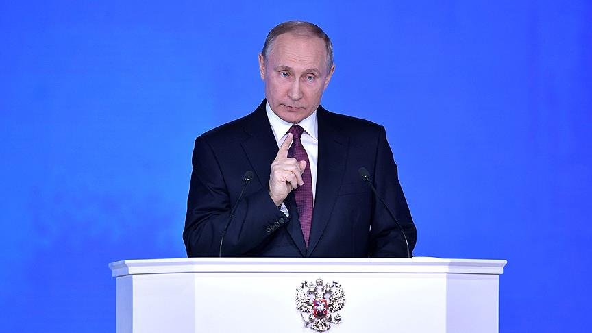 Putin'den operasyona tepki