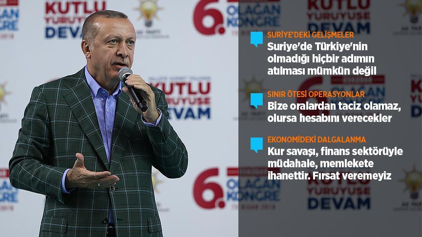 """""""Suriye'de Türkiye'nin olmadığı hiçbir adımın atılması mümkün değil"""""""