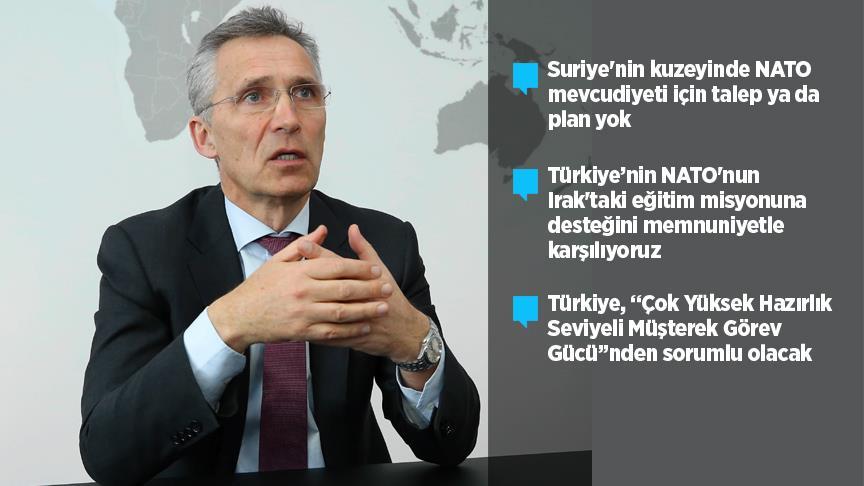 Stoltenberg Türkiye temaslarını AA'ya değerlendirdi!