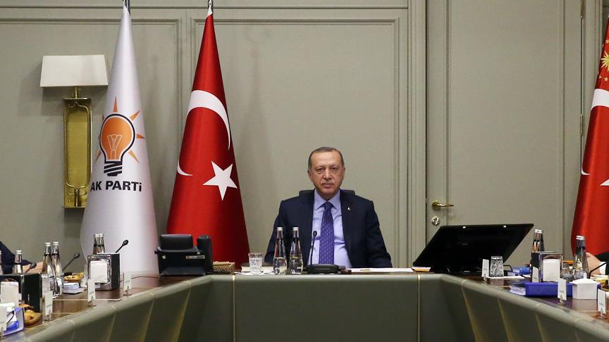 Erdoğan'ın Uyum Komisyonu üyeleriyle toplantısı bitti