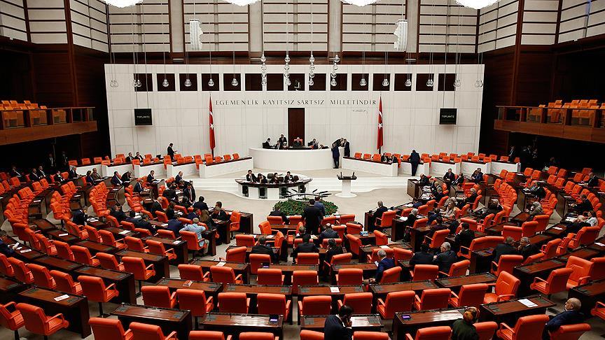 Seçim önergesi TBMM Genel Kurulu'nda kabul edildi