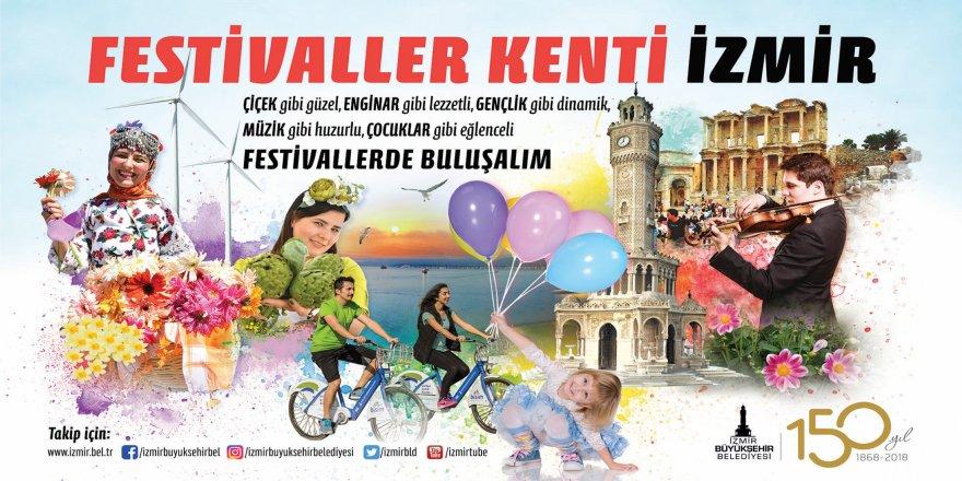 İZMİR'DE FESTİVALLER BAŞLADI!