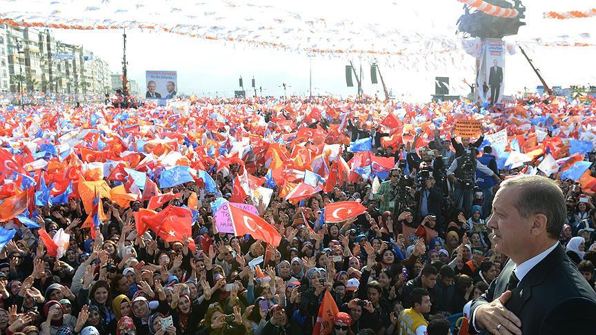 """Erdoğan'ın """"miting"""" maratonu İzmir'den başlayacak!"""
