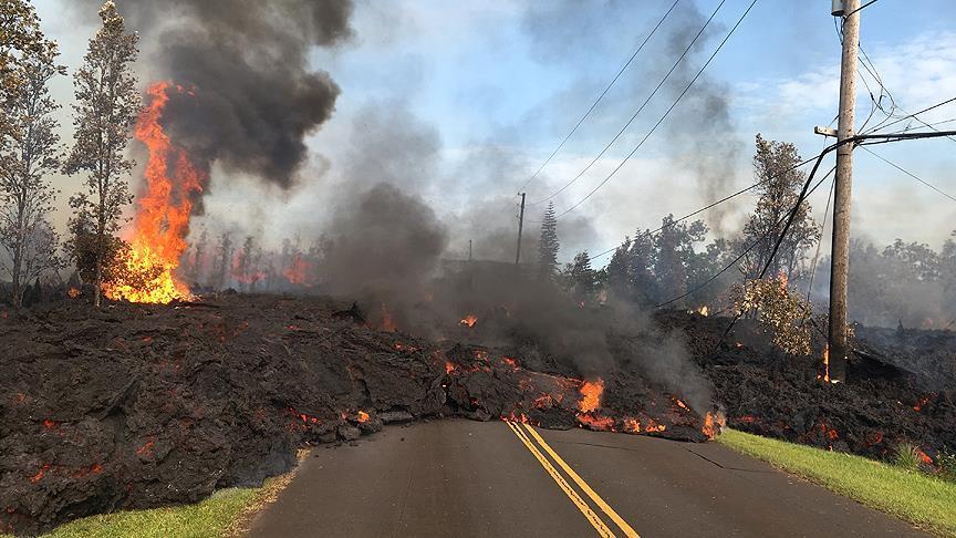 Hawaii Valisi, eyalette doğal afet durumu ilan edilmesini istedi