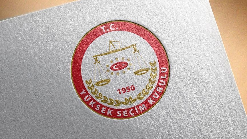 YSK cumhurbaşkanı kesin aday listesini açıkladı