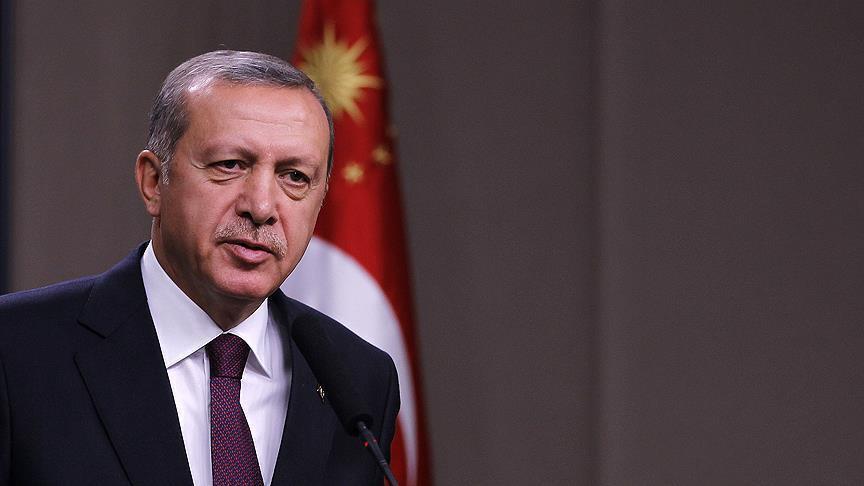 Erdoğan'dan yerli otomobil paylaşımı