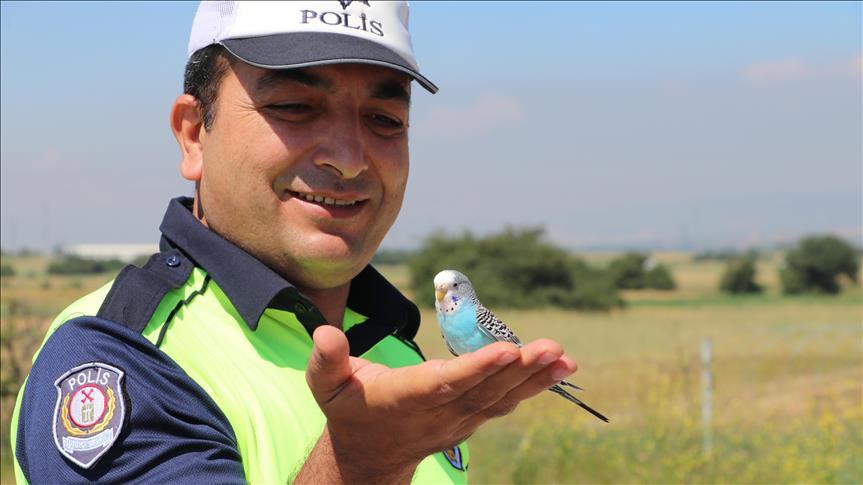 'Bayram Şekeri' polis ekiplerinin maskotu oldu