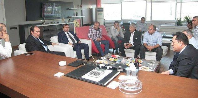 Yıldırım Demirören Eskişehirspor'u ziyaret etti!