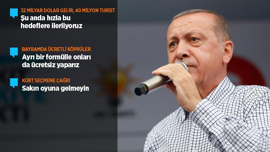 Erdoğan: 24 Haziran'da kim kimin apoletini sökecek hesabını soralım