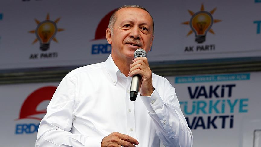 Erdoğan: Şov değil icraat yapmanın peşinde koştuk