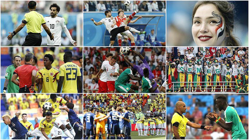 Dünya Kupası'nda 6. gün maçları oynandı!
