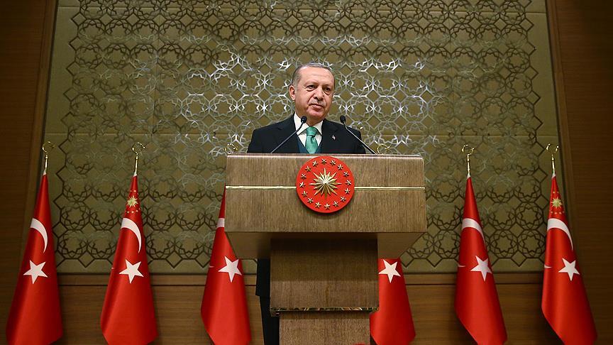 Cumhurbaşkanı Erdoğan: Şimdi gece gündüz çalışma vaktidir