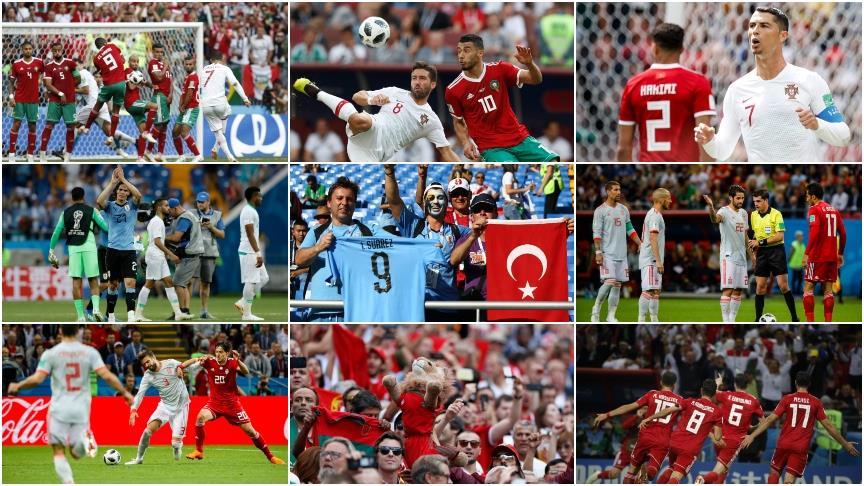 Dünya Kupası'nda günün sonuçları