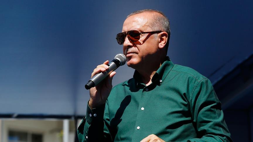 Erdoğan: Ülkelerine dönen Suriyelilerin sayısı 200 bini buldu