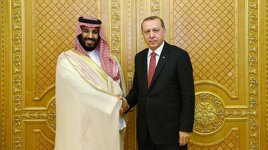 Suudi Veliaht Prensi Selman'dan Erdoğan'a tebrik