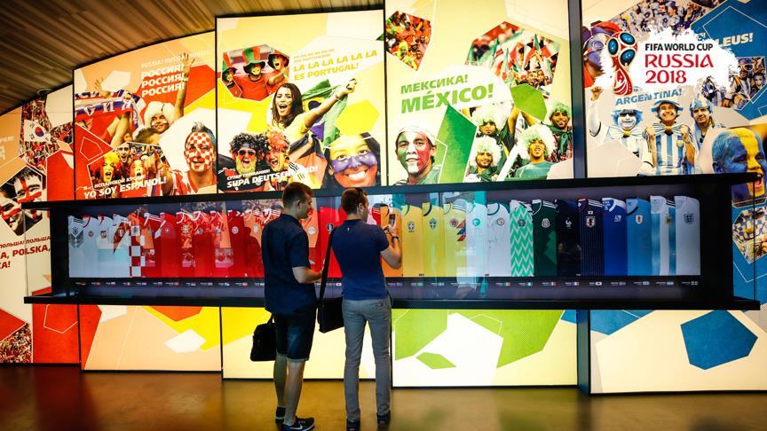 FIFA Dünya Kupası Müzesi futbolseverleri ağırlıyor