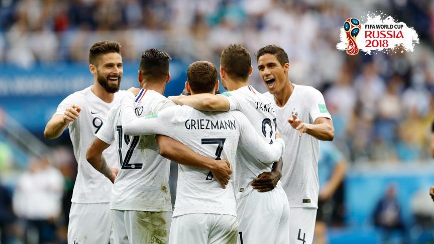 Fransa yarı finale yükselen ilk takım oldu!