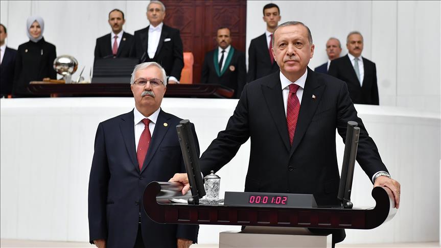Arap basını Erdoğan'ın yemin törenine geniş yer ayırdı