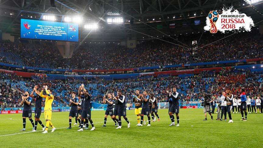Fransa üçüncü kez Dünya Kupası finalinde!