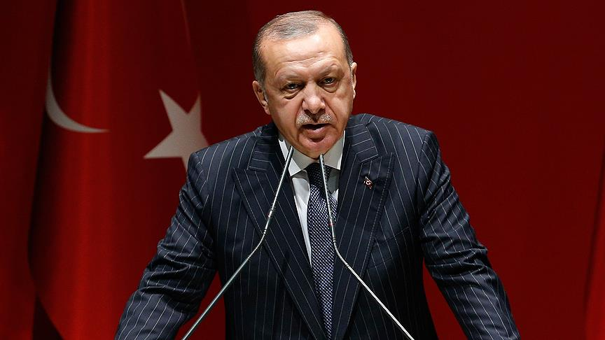 Erdoğan: İnsanlık suçlarının tekrarlanmaması için birlikte mücadele edeceğiz
