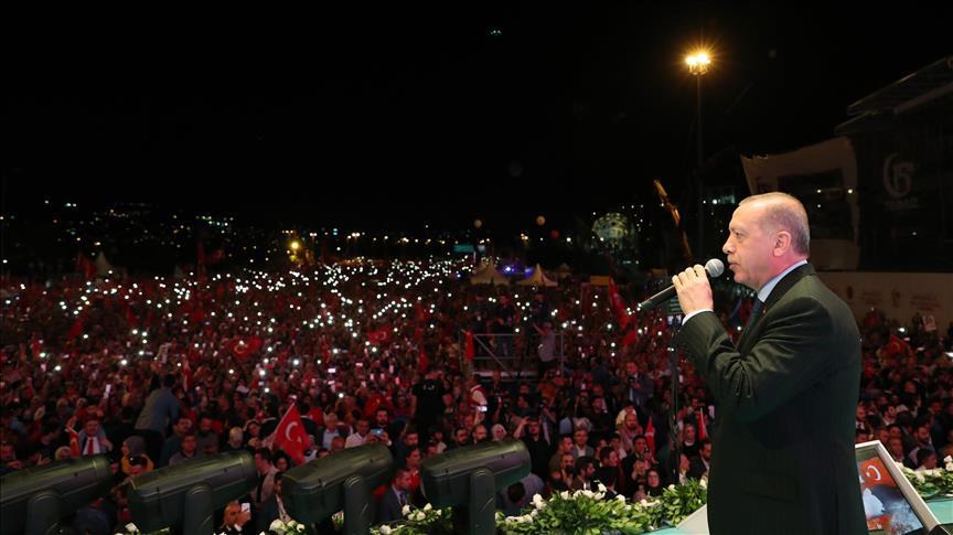 Erdoğan: Darbe defterini bir daha açılmamak üzere kapattık