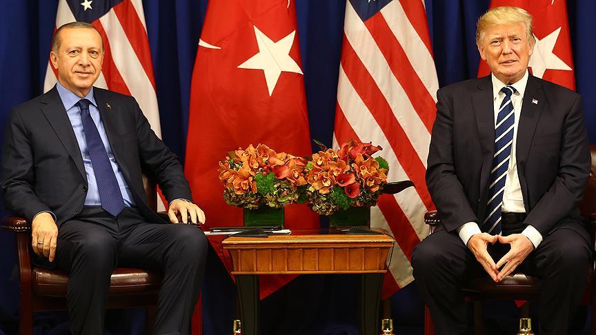 Erdoğan ile Trump Suriye'yi görüştü!